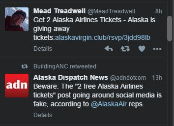 alaska airlines tickets
