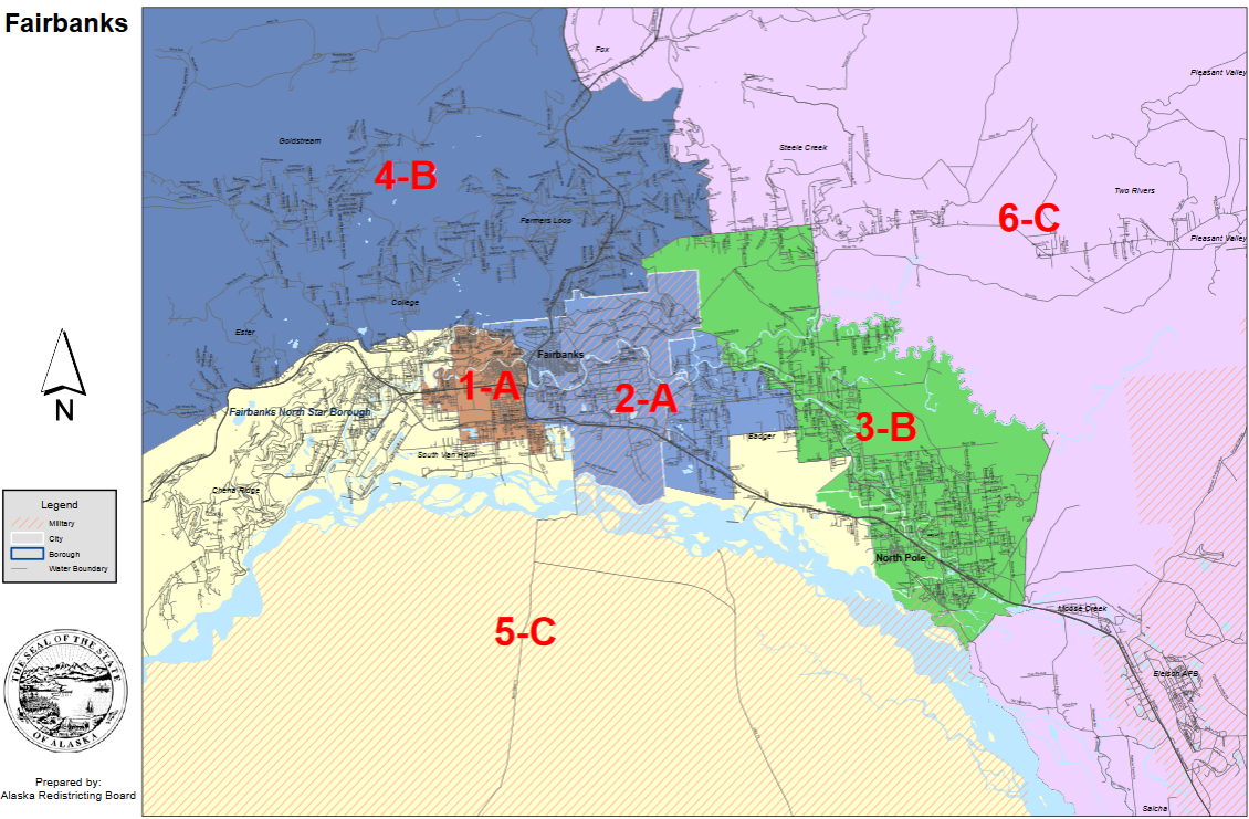 Fairbanks House Districts