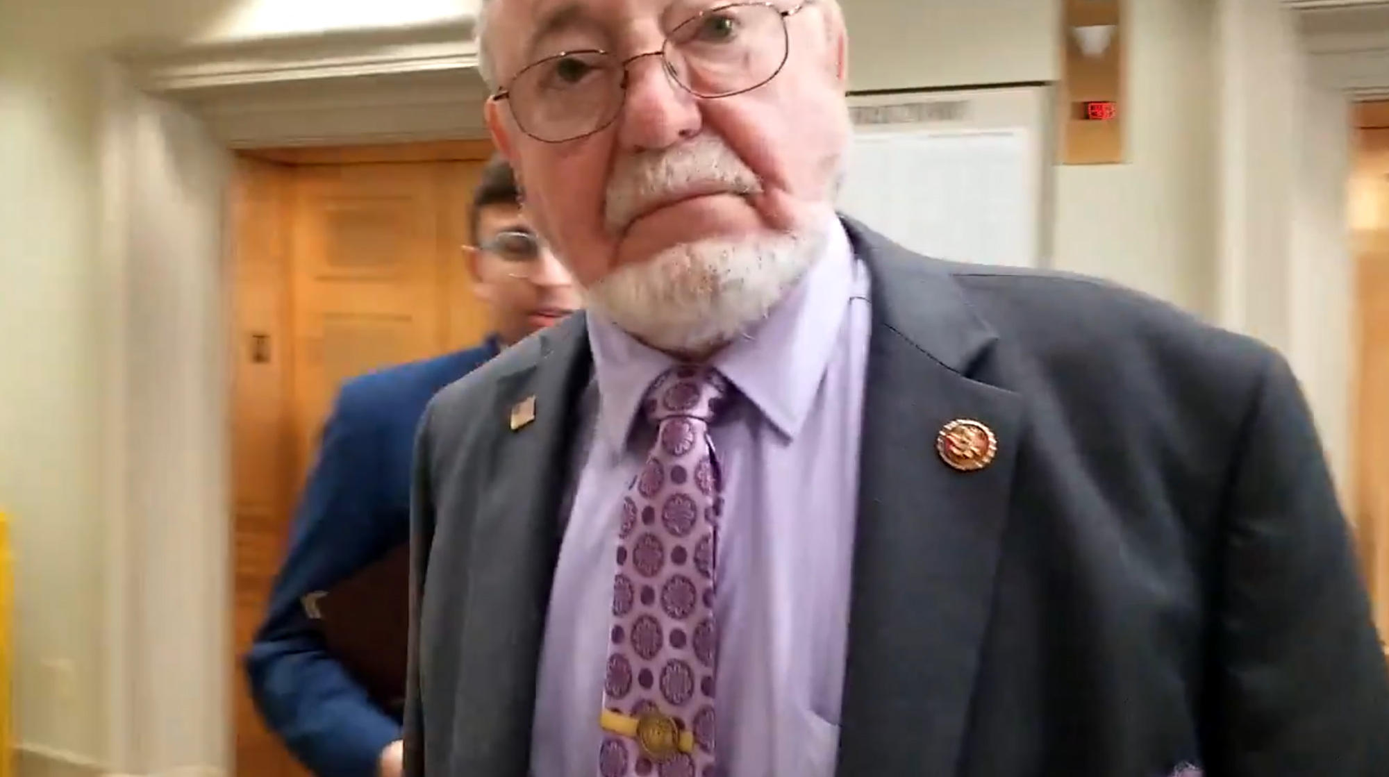 House passes impeachment resolution. Young calls it 'political stunt' then 'headbutts' reporter. | The Midnight Sun